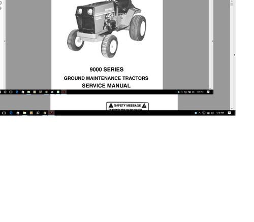 Huge vintage Gravely  tractors n equipment mega manual 60 - 80s tractor mower
