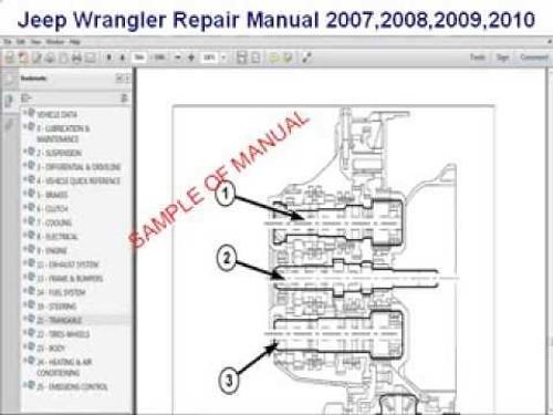 Jeep TJ wrangler factory service repair  manual 2003