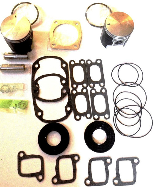 Rotax 377 piston and gasket kit for ultralight aircraft engine top end kit
