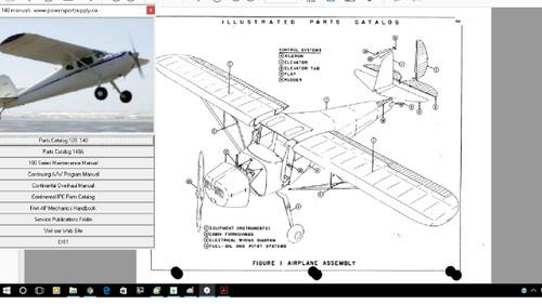 Cessna 120 140 maintenance service  manuals