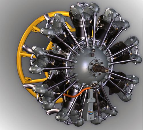 Pratt & Whitney R-985 Wasp Jr B, Wasp H1 & Hornet E Series overhaul manual