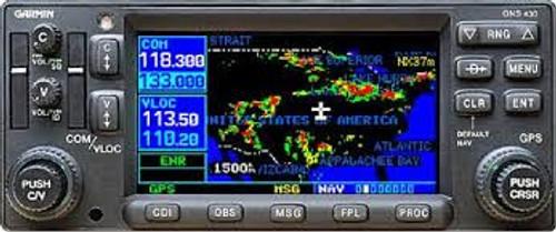 Garmin 430 Avionics installation manual 430W 430 420W 430AW