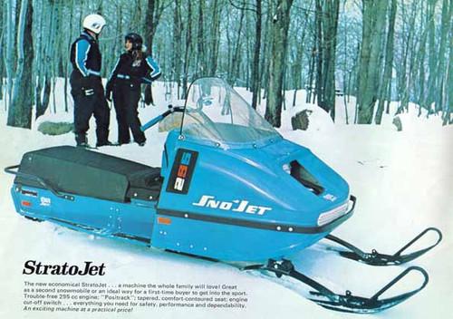1973 sno jet thunderjet snowmobile parts manual all models