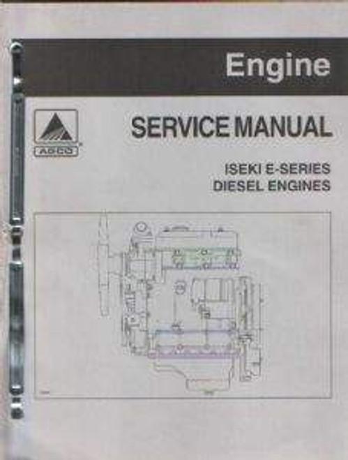 Iseki E series diesel engine service repair overhaul manual