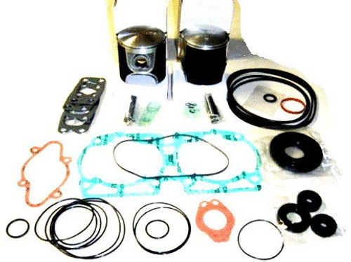 Rotax 582 oversize .020 piston and gasket kit for ultralight aircraft engines top end set