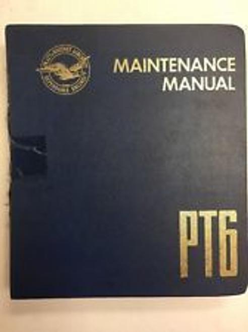 Pratt & Whitney Canada PT6A maintenance library CD service manuals PT6A