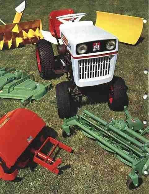 Bolens XL Eliminator tractor manual repair service 1976-1993 on