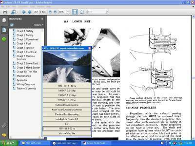 Scott McCulloch Outboard Motor Repair Service Manual