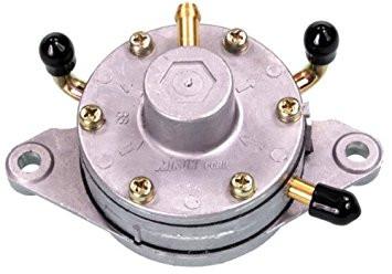 Mikuni fuel pump dual outlet kawasaki rotax cuyuna hirth
