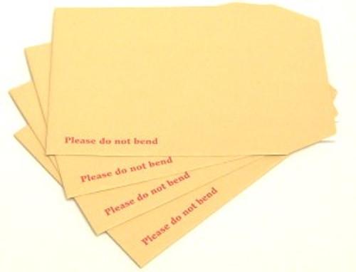 """7.5"""" x 9.5"""" Board Backed Envelopes (Box 125)"""