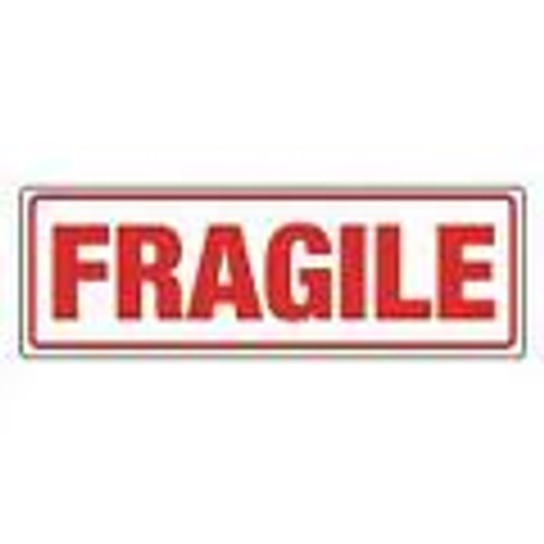 Fragile Labels 148 x 50mm  (Roll 500)