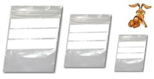 "1000 Grip Seal W.O.P Poly resealable bags 7.5 x 7.5"" GA129"