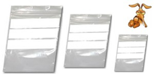 "1000 Grip Seal W.O.P Poly resealable bags 8 x 11"" GA131"