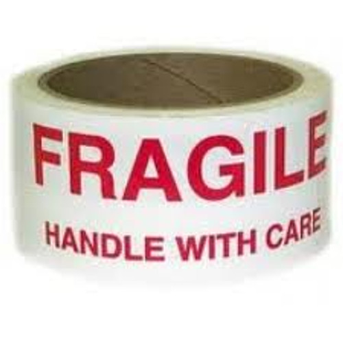 48mm Fragile Handle with Care Tape (36 Roll Pack)