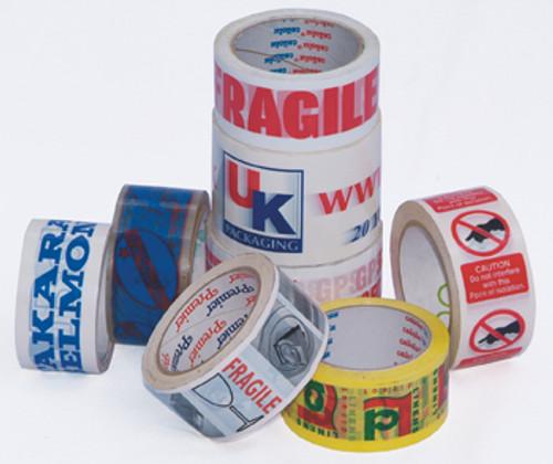 Custom Printed Hotmelt 48mm Parcel Tape