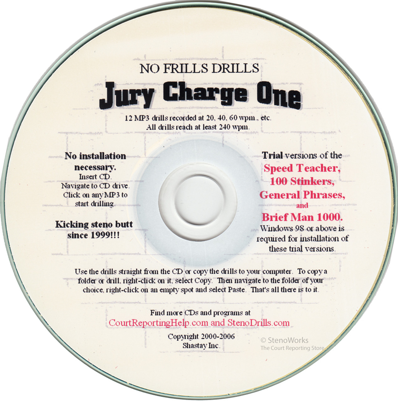 No Frills Drills Jury Charge One Great Dictation 5 star rating 2 Reviews