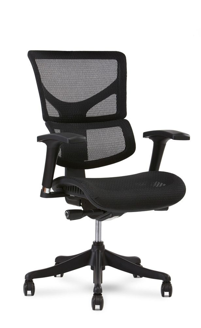 X Chair X1 Flex Mesh Task Chair Stenoworks The Court Reporting Store