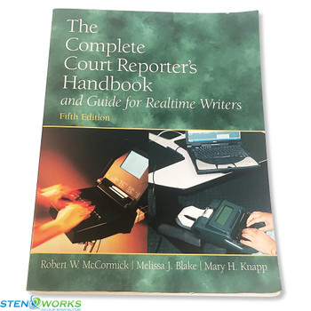 4th Edition Court Reporters and CART Services Handbook