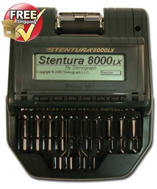 Stenograph® Stentura ® 8000LX  Refurbished Paperless or Paper