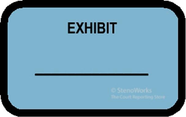 EXHIBIT Labels Stickers Blue 492 per pack