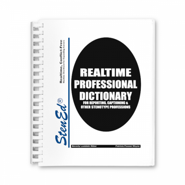 Stened's Realtime Professional Dictionary New
