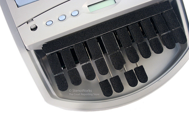 Steno Writer Soft Velcro Keytop Covers Free US Shipping