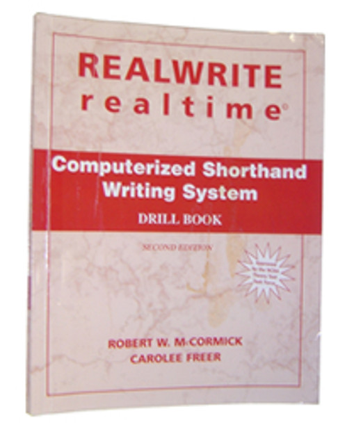 REALWRITE RT Computerized Shorthand Writing System Drill Book 2nd Edition - Acceptable