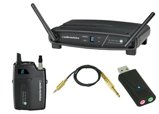 Audio Technica - System 10 2.4GHz Digital Wireless Bodypack System