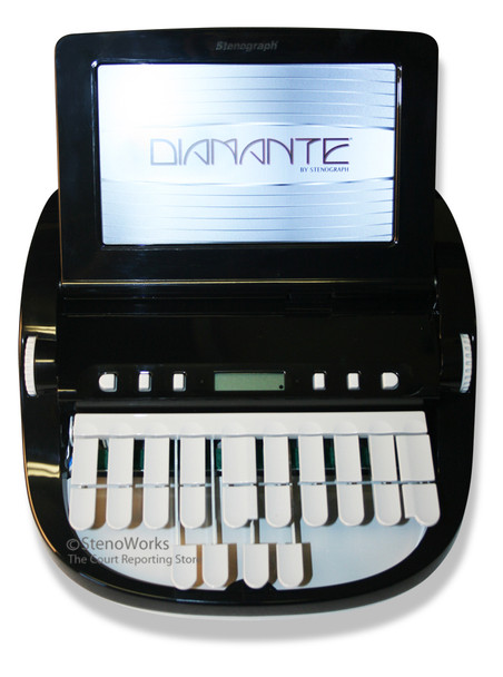 Stenograph™ Diamante™ Pro Writer Refurbished in Black