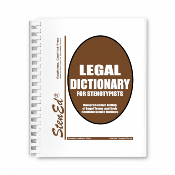 Realtime Legal Dictionary for Stenotypists