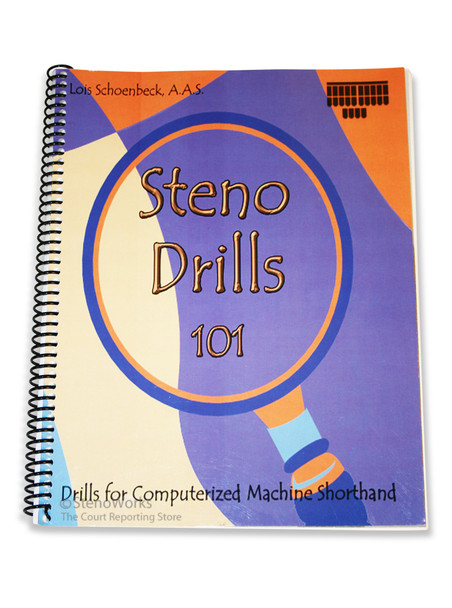 Steno Drills 101 - Very Good Condition, Free Shipping