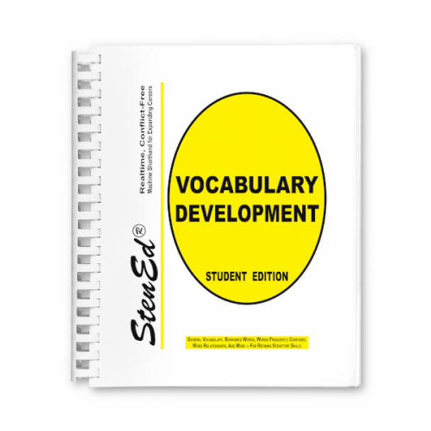 StenEd Vocabulary Development, Student Edition NEW