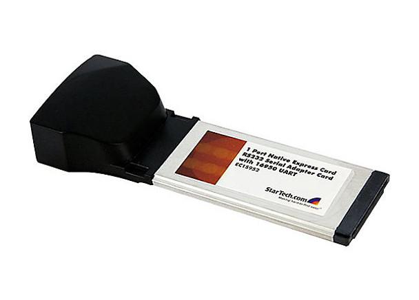 StarTech.com 1 Port ExpressCard RS232 Serial Adapter Card w/ 16950