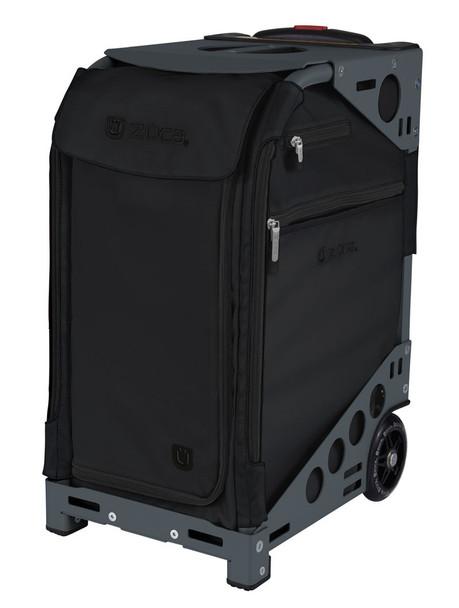 Zuca Professional Wheelie Case for Stenograph in Black - New Slate Frame