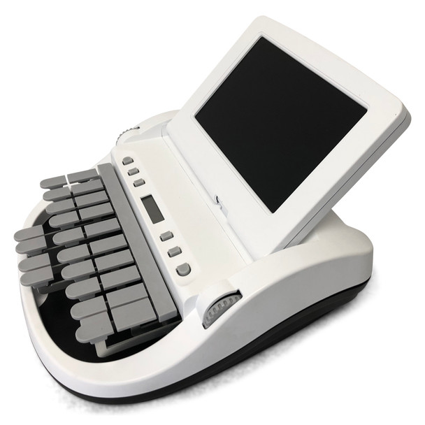 Diamante™ Pro Writer Refurbished Matte White Black Bottom