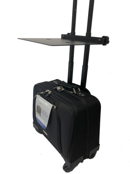 Mobile Office Spinner Samsonite with Add-on table NEW Free Shipping