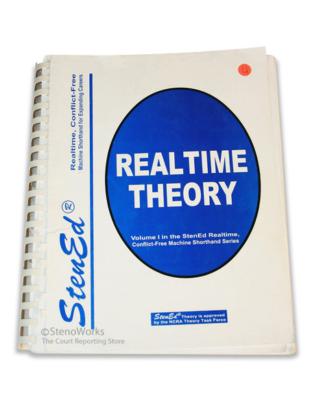 StenEd Realtime Theory  101 Fair Condition Free Shipping