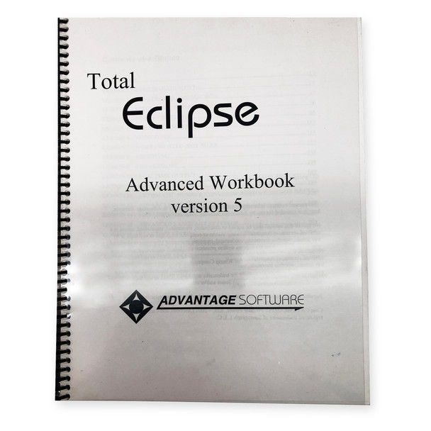Total Eclipse Advanced Workbook Version 5
