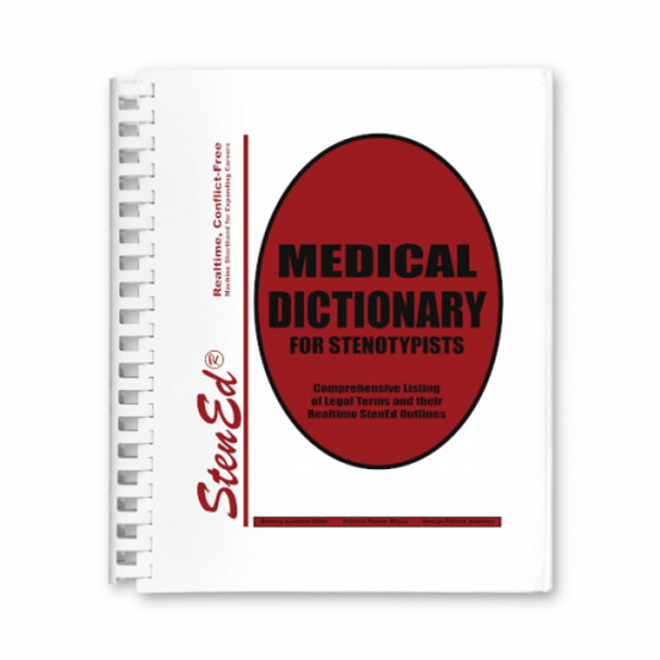 StenEd Medical Dictionary for Stenotypists
