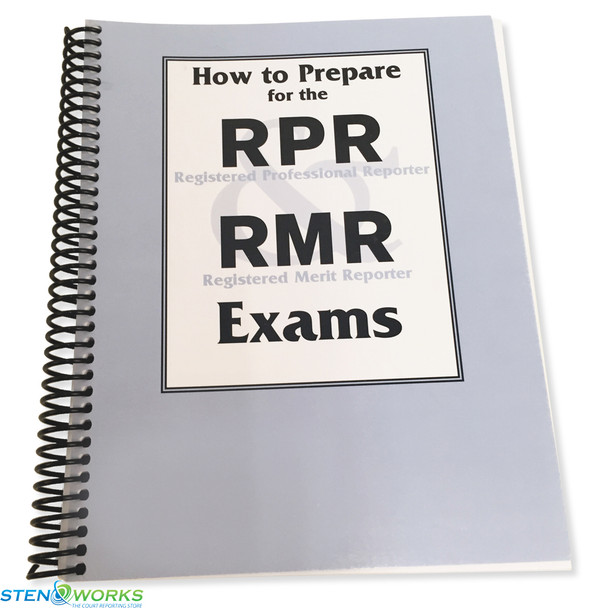 How to prepare for the RPR and RMR Exams - Good Condition