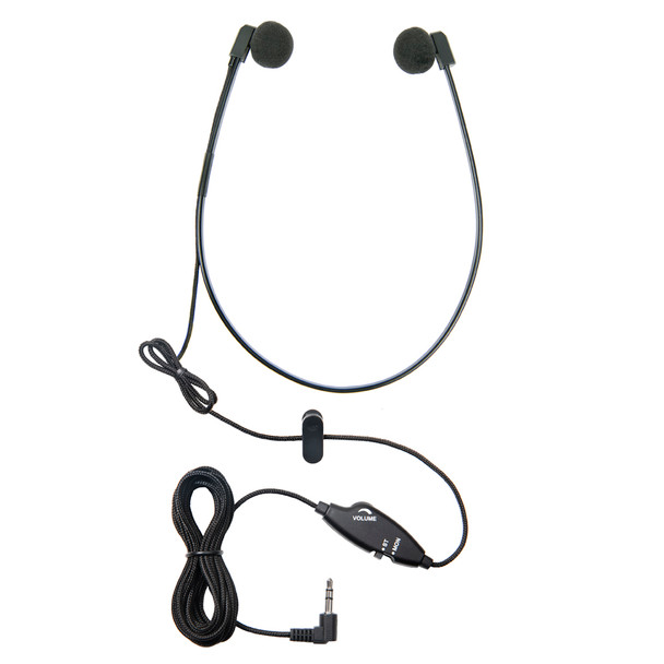 WordHear-O 3.5 mm Under-chin Transcription Headset Antimicrobial