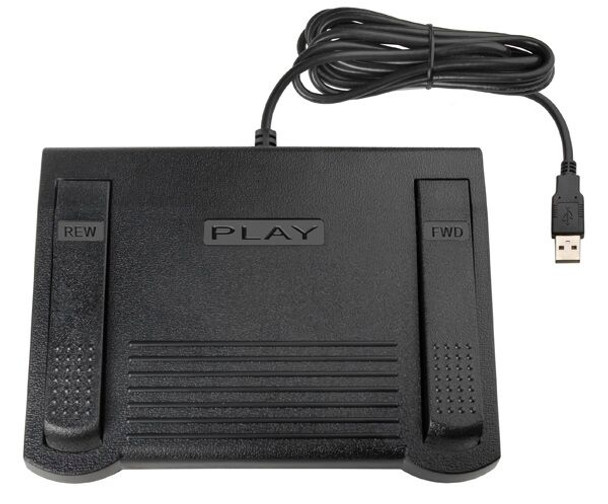 ECS Case CATalyst™  USB Transcription Foot Pedal