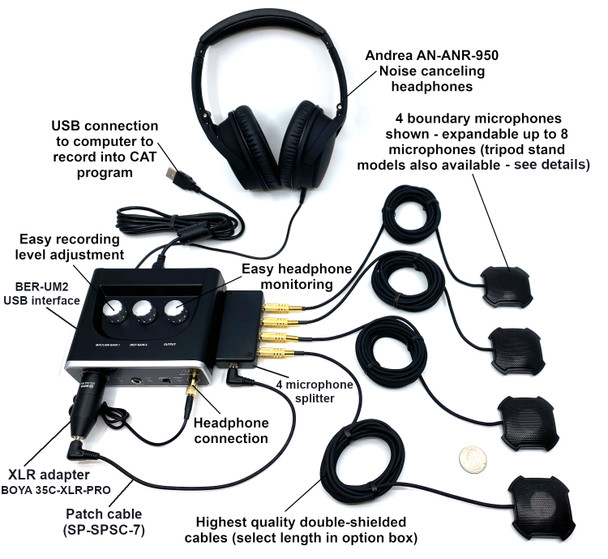 Ultimate Social Distancing Microphone System Conference Mics