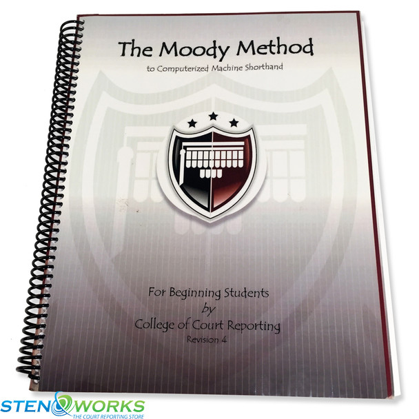 The Moody Method to Machine Shorthand For Beginning Students, Revision 4 - Acceptable Condition