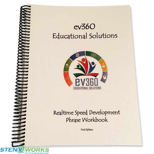 Realtime Speed Development Phrase Workbook, ev360 Educational Solutions By Kay Moody, Very Good Condition
