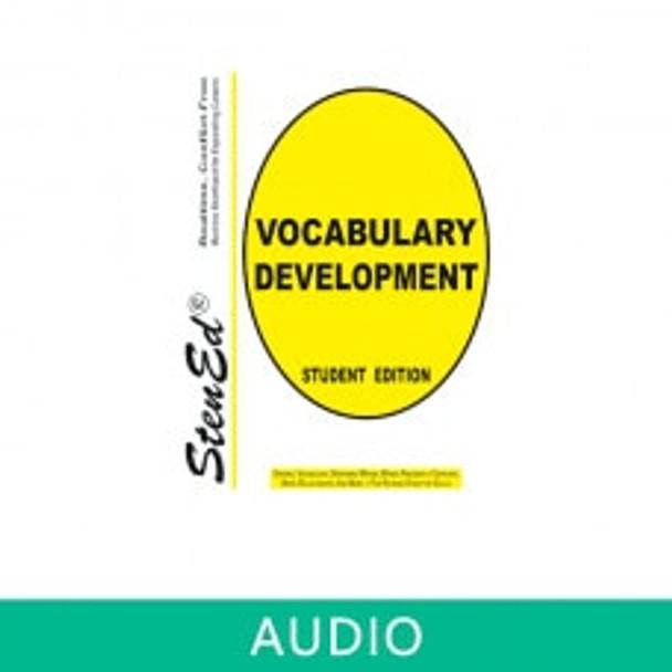 StenEd Vocabulary Development Realtime Vocabulary Development (Online Audio)