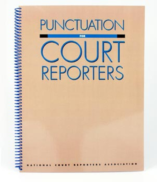 Punctuation for Court Reporters - Great Reference Book Acceptable condition