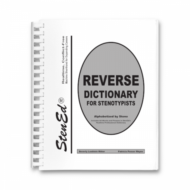 StenEd Realtime Reverse Dictionary NEW