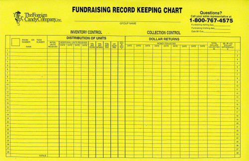Record Keeping Charts