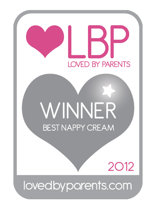 Loved By Parents, 2012 Awards - Winner Silver Best Nappy Cream